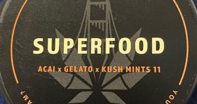 superfood by sf cultivators strain review by trunorcal420