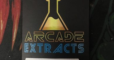 trainwreck shatter by arcade extracts concentrate review by scubasteveoc