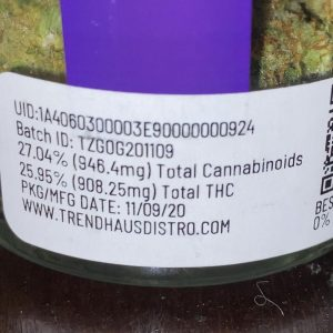genie og by thizz farms strain review by trunorcal420 3
