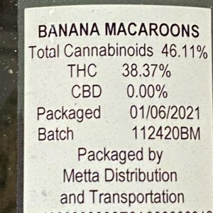banana macaroons by 530 grower strain review by trunorcal420 2