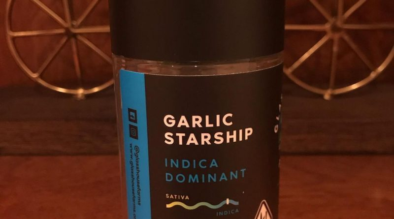 garlic starship by glass house farms strain review by can_u_smoke_test