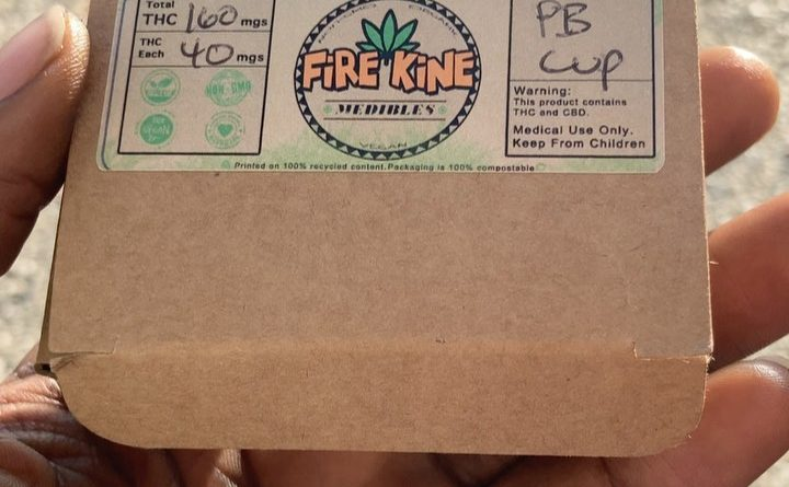 peanut butter cup by fire kine edible review by sjweed.review