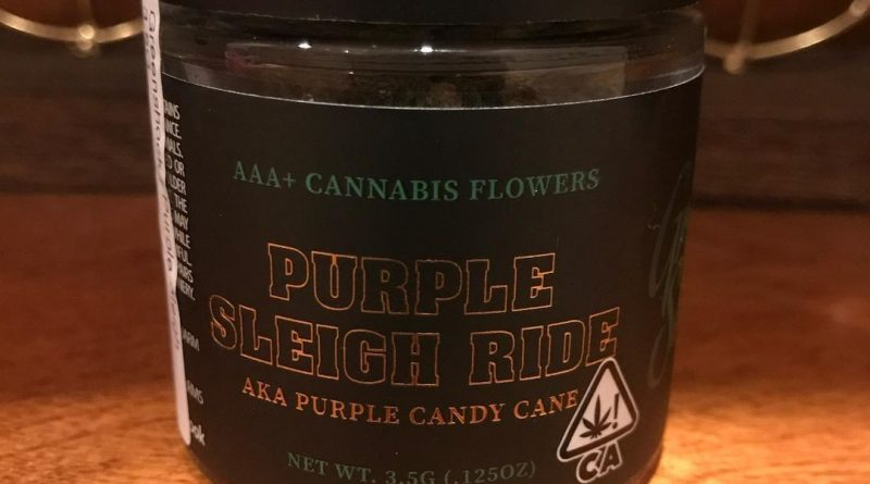purple sleigh ride by green shock farms strain review by can_u_smoke_test 3