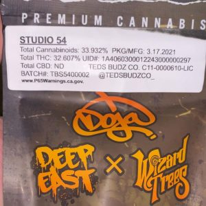 studio 54 by doja exclusive strain review by trunorcal420 2