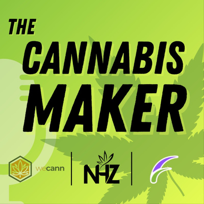 the cannabis maker podcast 400x400 logo