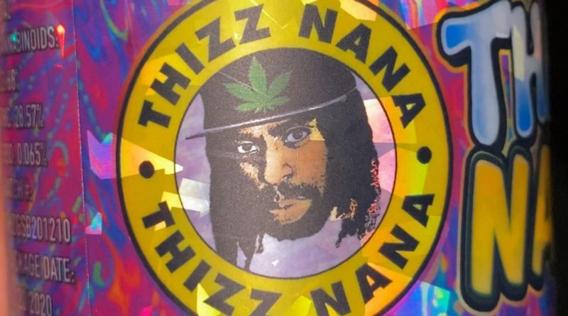 thizznana by synergy cannabis strain review by trunorcal420