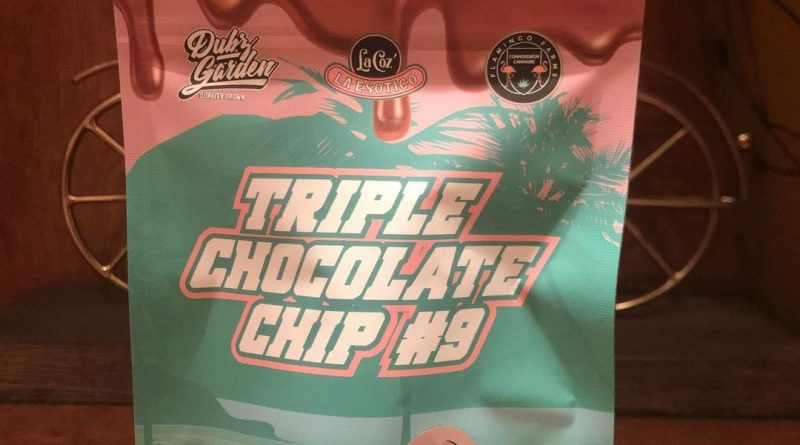 triple chocolate chip #9 by flamingo farms strain review by can_u_smoke_test
