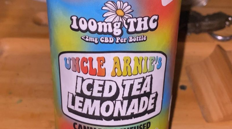 uncle arnie's iced tea lemonade by matt's high soda drinkable review by trunorcal420