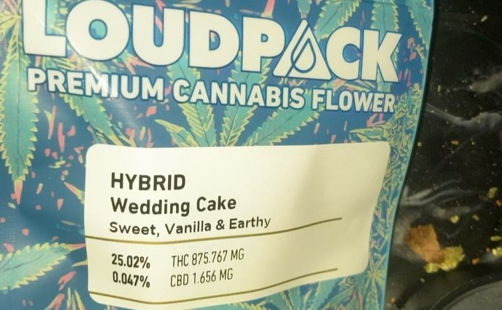 wedding cake by loud pack strain review by sjweed.review