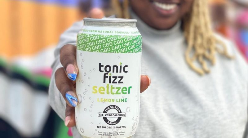 5 to 1 lemon lime seltzer by tonic fizz drinkable review by upinsmokesession