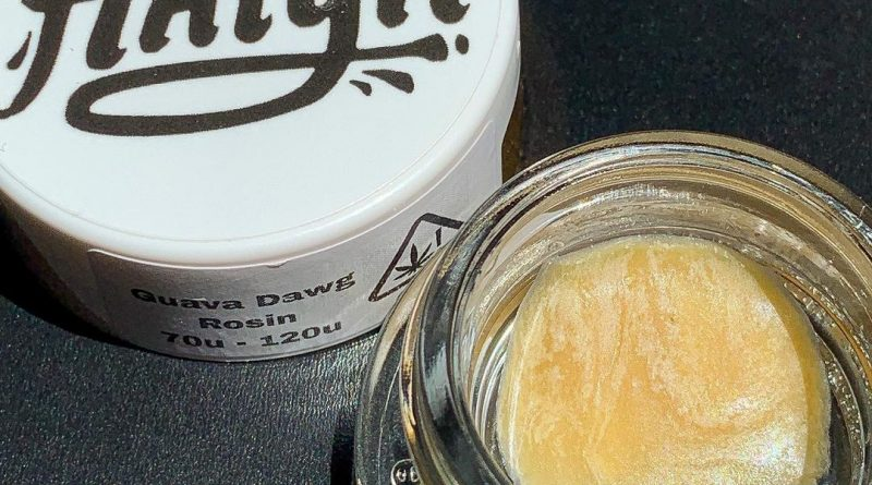 guava dawg rosin by kalya extracts dab review by budfinderdc