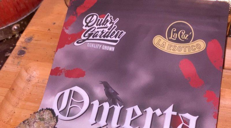 omerta by dubz garden x la coz strain review by trunorcal420