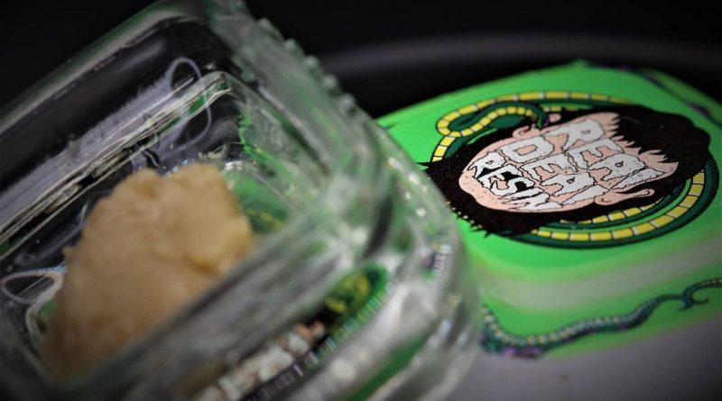 garlic juice hash rosin by real deal resin dab review by cannasaurus_rex_reviews 2