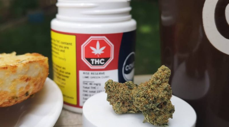 cove's rise by cove cannabis strain review by terple grapes