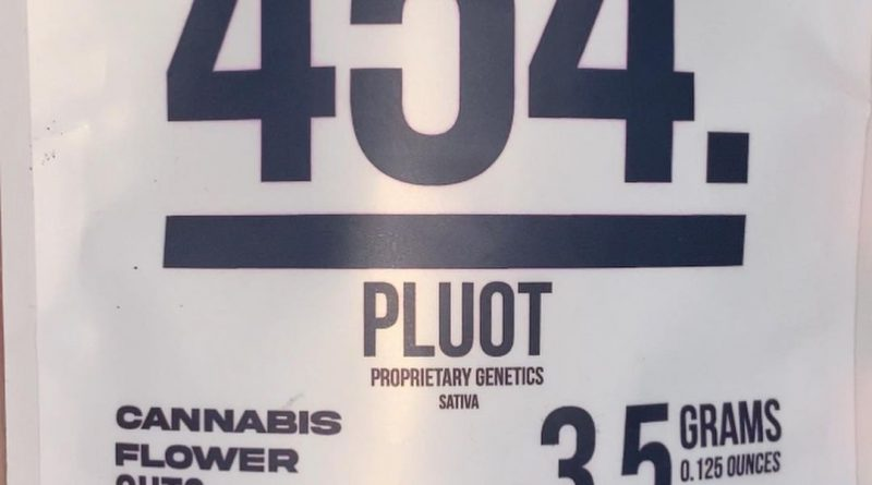 pluot by 454 flower strain review by trunorcal420 2