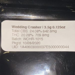 wedding crashers by gotbars510 x terpenstein x the canna project strain review by trunorcal420 2